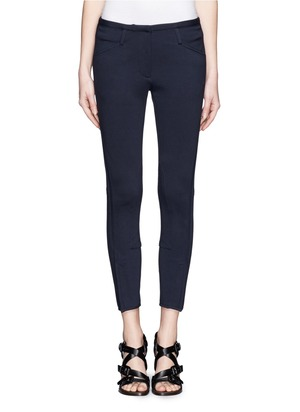 Crop jodphur pants