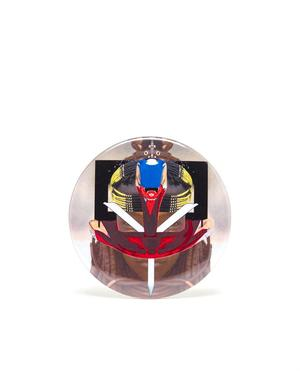 Masai Robot Motif Pin-Badge