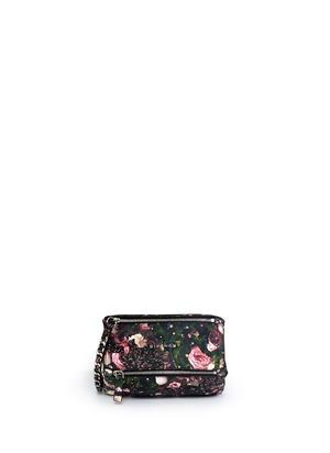 Pandora floral wristlet pouch