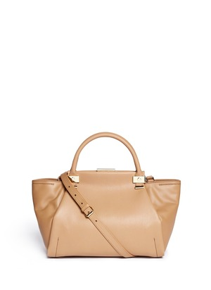 Trilogy small leather bag
