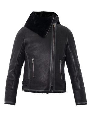 Backal shearling jacket
