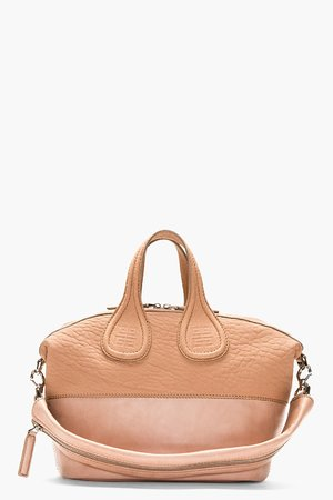 Givenchy Clay Pink Paneled Leather Small Nightingale Shoulder Bag