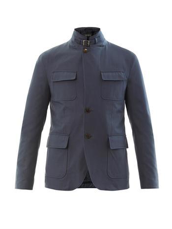 Azul gabardine four pocket jacket
