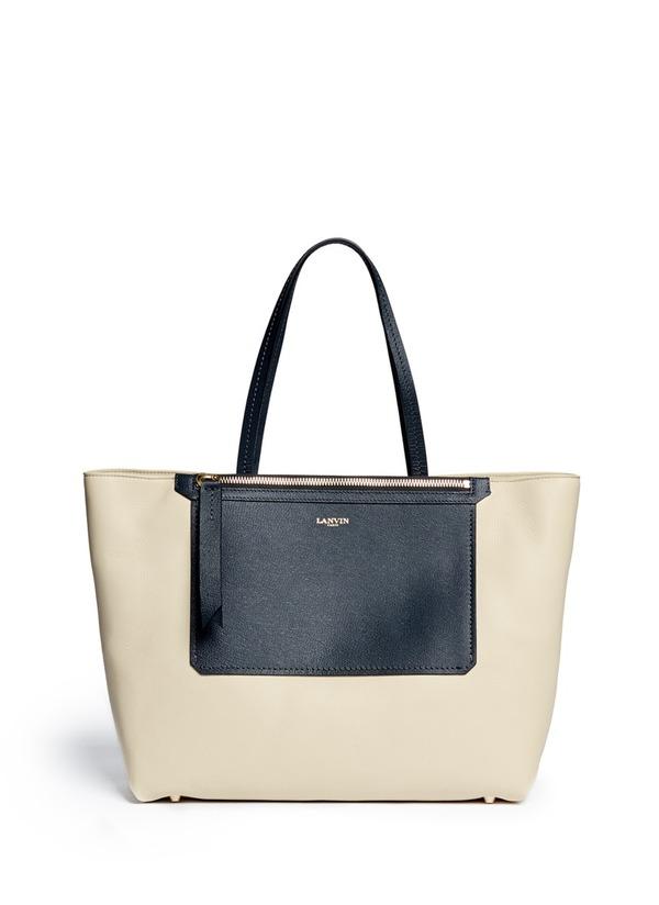 Easy Shopper bi-colour tote bag